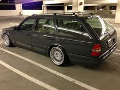 The 80s are forever. 300 te mercedes touring w124
