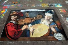 Ode to Caravaggio by AmazingStreetPaint on DeviantArt
