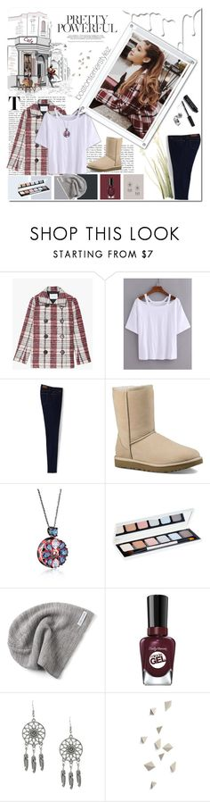 """""""Get the Look!"""" by bostonterrierstylez ❤ liked on Polyvore featuring 10 Crosby Derek Lam, Lands' End, UGG, Bobbi Brown Cosmetics, Converse, Sally Hansen, Nivea and bostontseedscollection"""