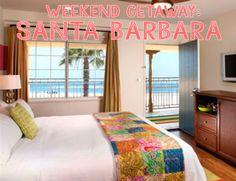 Father's Day Gift ideas // weekend getaway to Hotel Milo in Santa Barbara