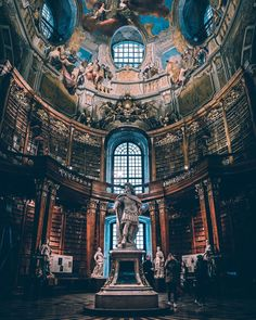 ITAP in the National Library in Vienna Austria by patbpixx . ITAP in the National Library in Vienna Austria by … Amazing Photography, Travel Photography, Photography Photos, Rennaissance Art, Travel Around The World, Around The Worlds, Vienna Austria, Photo Backgrounds, Countries Of The World