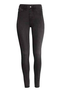 Jeggings: Leggings que imitan a los jeans.  Jeggings Super Skinny High