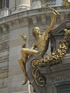 """Opera Garnier, Paris"" Where the Phantom of the Opera takes place. Paris 3, I Love Paris, Paris City, Opera Garnier Paris, Paris Opera House, Amazing Architecture, Architecture Details, Monuments, Charles Garnier"