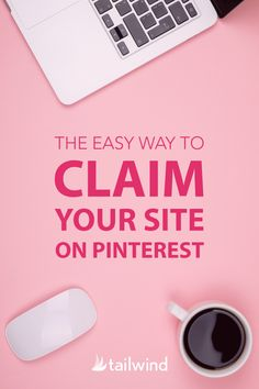 Claiming your site on Pinterest is a great way to build your credibility! Learn how to knock this task off your to-do list HERE #PinterestTools #PinterestStrategy Pinterest For Business, Influencer Marketing, Facebook Marketing, Pinterest Marketing, Social Media Tips, Verify, Step Guide, Axe, Photographers