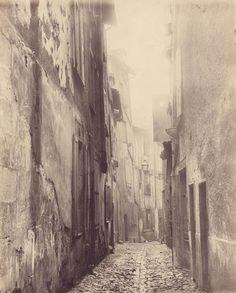 Rue Vigenaud, quartier Viraclaud, Limoges, vers 1896. Jean Faissat (1860-1926). Bfm Limoges