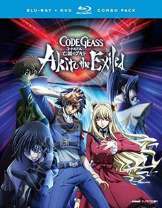 Code Geass: Akito the Exiled OVA Series (Blu-ray/DVD Combo)