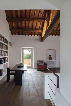 Casa A2, borgo medievale di Castelmuzio, Val d'Orcia | VPS ARCHITETTI