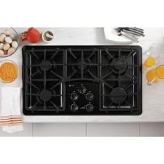 shop ge 4burner gas cooktop stainless common 30in actual 30in at lowescom 799 719 price match 29th st ne pinterest lowes and kitchens