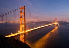 America's Most Romantic Places To Visit - San Francisco, California #honeymoon #romance #travel #USA