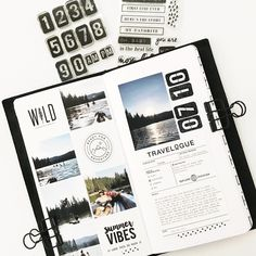Bullet Journal Inspo, Photo Journal, Journal Pages, Journal Record, Smash Book, Travel Journal Scrapbook, Journal Aesthetic, Art Journal Inspiration, Journal Ideas