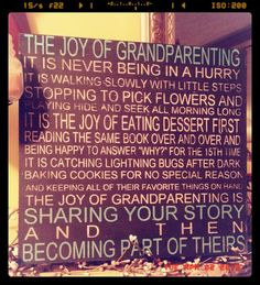Joy of grandparenting wooden sign by CreativeMemoriesbysh on Etsy, $32.00