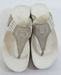 Thong, athletic, shaping, t-strap, sandals, tan, Thera Shoe