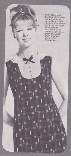 Pattie Boyd 1964 Repinned by www.lecastingparisien.com