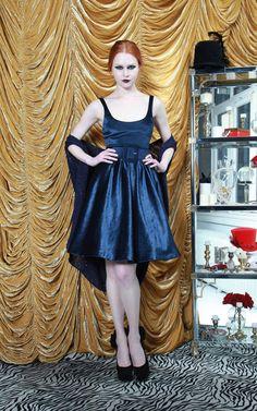 ULI SHIRT FLARE TANK DRESS WITH BELT   Alice + Olivia   Dresses