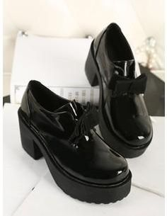 2013 Retro Fashion Bow Round Head Women Shoes