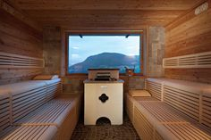 STUBE - Finnish sauna / commercial / wooden / for indoor use by Starpool