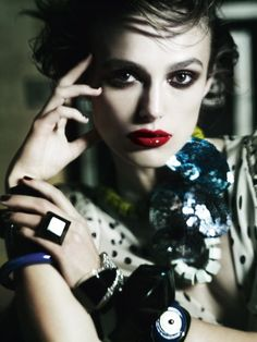 Fashiontography: Keira Knightley by Mario Testino