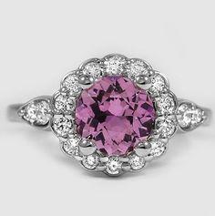 Pretty diamond floral ring.