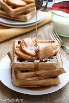 Apple pie waffle rec