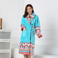 Find More Robes Information about 2014 Real Bath Robe Bathrobe Women New Autumn And Winter Female Models Thick Flannel Cartoon Noble Princess Sets Free Shipping ,High Quality Robes from RAINBOW HALL on Aliexpress.comUS $23.50
