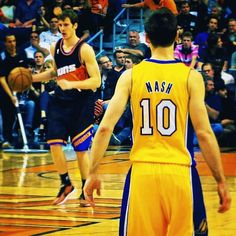 Goran Dragic vs. Steve Nash