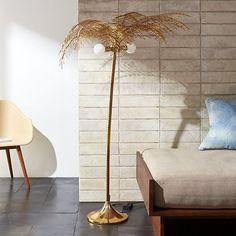 Ocean Palm Floor Lamp   CB2