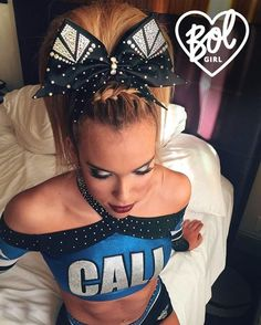 because Bows of London literally makes perfect cheer bows ✨ www.bowsoflondon.com / pin uploaded by @beccaclarkkk :)