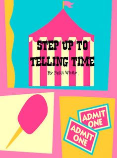 Fern's Freebie Friday ~ Step Up to Telling Time Freebie!