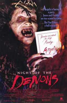 """FRIGHT FEST! FREE FULL MOVIE! """"NIGHT OF THE DEMONS"""" 