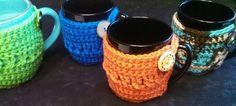 Free Crochet Coffee Cozy Pattern