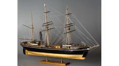 BBC - A History of the World - Object : Scale model of the Terra Nova ship