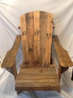 DIY Pallet Adirondack Chair   Pallet Furniture DIY