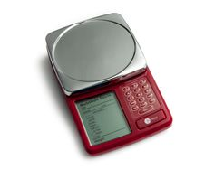 KITRICS 122 Digital Nutrition Label Scale in RED #Kitrics