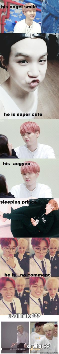 why we love suga XD