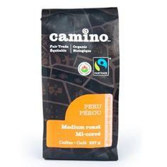 Fair Trade, Organic Medium roast coffee – Ground