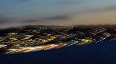 Die Lichter einer Insel mit bewegter Kamera aufgenommen.... Spaceship, Sci Fi, Art, Lights, Island, Space Ship, Art Background, Science Fiction, Spacecraft