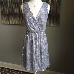 Express Silver Sequin Party Dress Express - size small - silver sequin dress - like new condition - fully lined - perfect party dress - Reasonable Offers Welcomed - Bundle Discounts Available Express Dresses