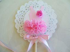 ballerina tutu cupcake topper
