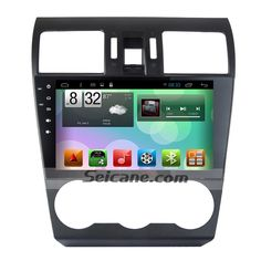 9 Inch Android 6.0 2015 Subaru Forester Bluetooth Radio GPS Navigation System with Mirror link TPMS OBD DVR Rearview camera TV 4G WIFI Flash CPU Quad Core RDS