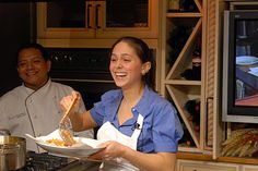 "Chef Liz Bramwell, Host of ""The Cooking Show"""