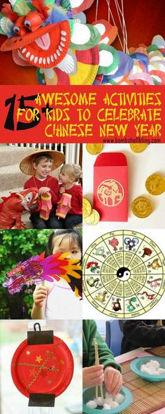 These Chinese New Year activities for kids are sure to delight and easy to implement for your family celebration. Food, crafts, activities, and more! Source by Related posts: Chinese New Year Activities 2019 Chinese New Year Crafts For Kids, Chinese New Year Dragon, Chinese New Year Activities, Chinese New Year Design, Chinese New Year Party, Chinese New Year Decorations, Chinese Crafts, New Years Activities, Happy Chinese New Year