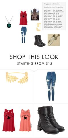 """""""Challenge- Day 4"""" by cc11girl ❤ liked on Polyvore featuring Avigail Adam, Topshop and Philosophy di Lorenzo Serafini"""