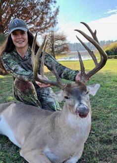 It's whitetail month at and Prois Staffer, Cherri Teutsch is celebrating in style with harvesting a beautiful buck down in Texas! Congratulations, Cherri!  #prois #proisproud www.proishunting.com