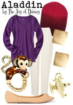 Casual outfit inspired by Aladdin!