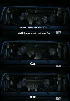 teen wolf funny | Teen Wolf Screenshot - Derek/Stiles funny moment by ~Fi-Re on ...: