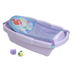 Make the Disney Ariel Tub part of your world! With a large mesh sling for newbor… Make the Disney Ariel Tub part of your world! With a large mesh sling for newborns, plus infant and toddler positions, it grows with your baby through three stages. Mermaid Disney, Baby Mermaid, Mermaid Shell, Little Mermaid Nursery, The Little Mermaid, Disney Babys, Baby Disney, Toddler Bath Tub, Infant Toddler