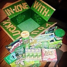 St Patrick's Day Military Care Package