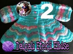 DALGALI ETEKLİ ELBİSE YAPILIŞI (İkinci Bölüm) - YouTube Fingerless Gloves, Arm Warmers, Youtube, Sweaters, Cups, Fashion, Crochet Baby Dresses, Toddler Dress, Infant Dresses