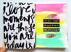 art journal pages for CHA created by mambi Design Team member Olya Schmidt | me & my BIG ideas