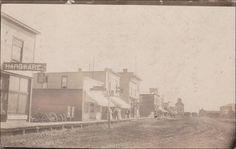 RP: Main Street (dirt) ,MILESTONE , Saskatchewan , Canada , 00-10s Item# SCVIEW242909 (209556697)
